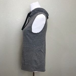 Old Navy Tops - Old Navy Active gray hooded sleeveless top